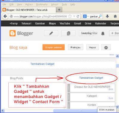 cara membuat contact form pada blog-2