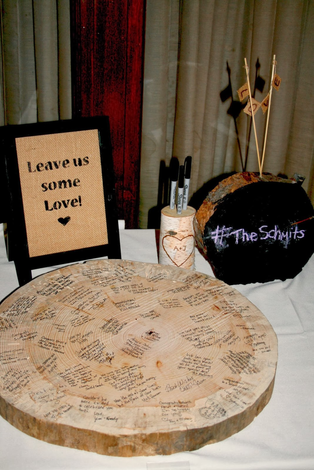 Rustic wedding table decorations all wedding ideas website for Wedding table sign ideas