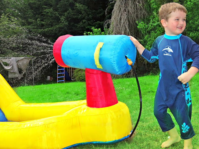 BeBop Inflatable Water Slide