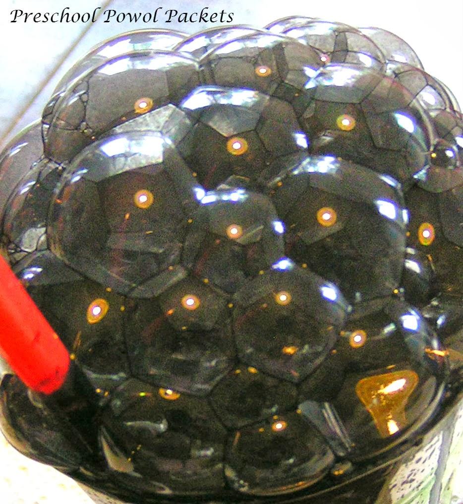 bubble spider webs preschool powol packets