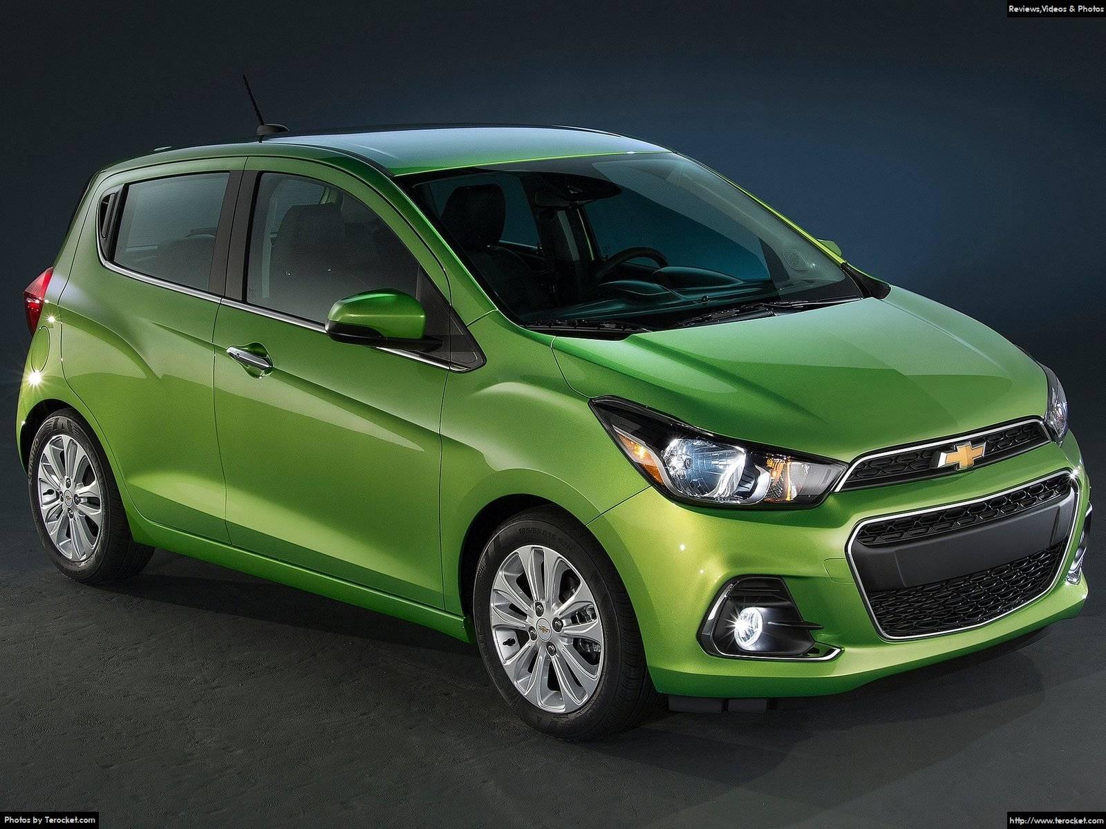 Hình ảnh xe ô tô Chevrolet Spark 2016 & nội ngoại thất