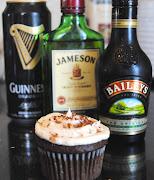 Bar Worthy Irish Car Bomb Cupcakes. Ingredients: For the Cake (irish car bomb cupcake bar worthy )
