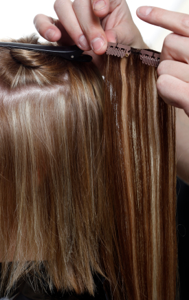 Clip In Hair Extensions Fitting Guide 40