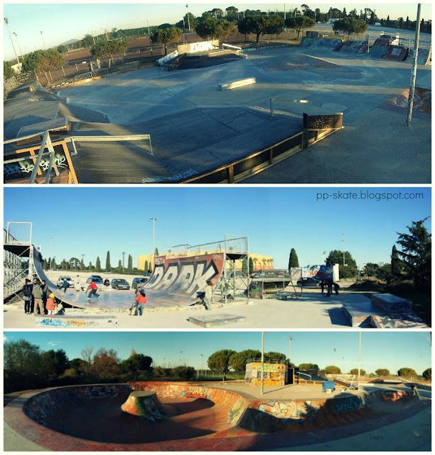 skatepark montpellier grammont