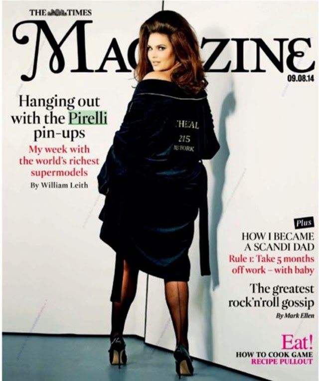 Candice Huffine Times Magazine cover