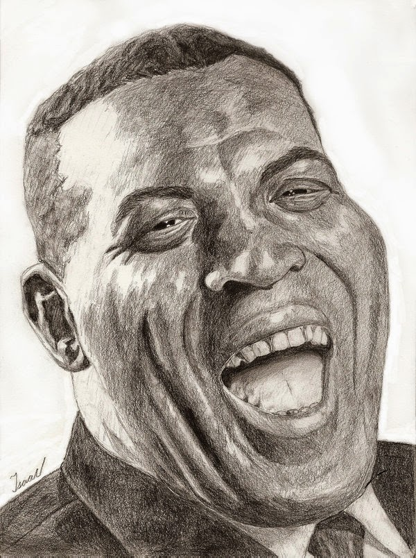 Howlin' Wolf Pencil Drawing