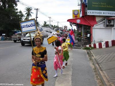 ASEAN parade Cambodia