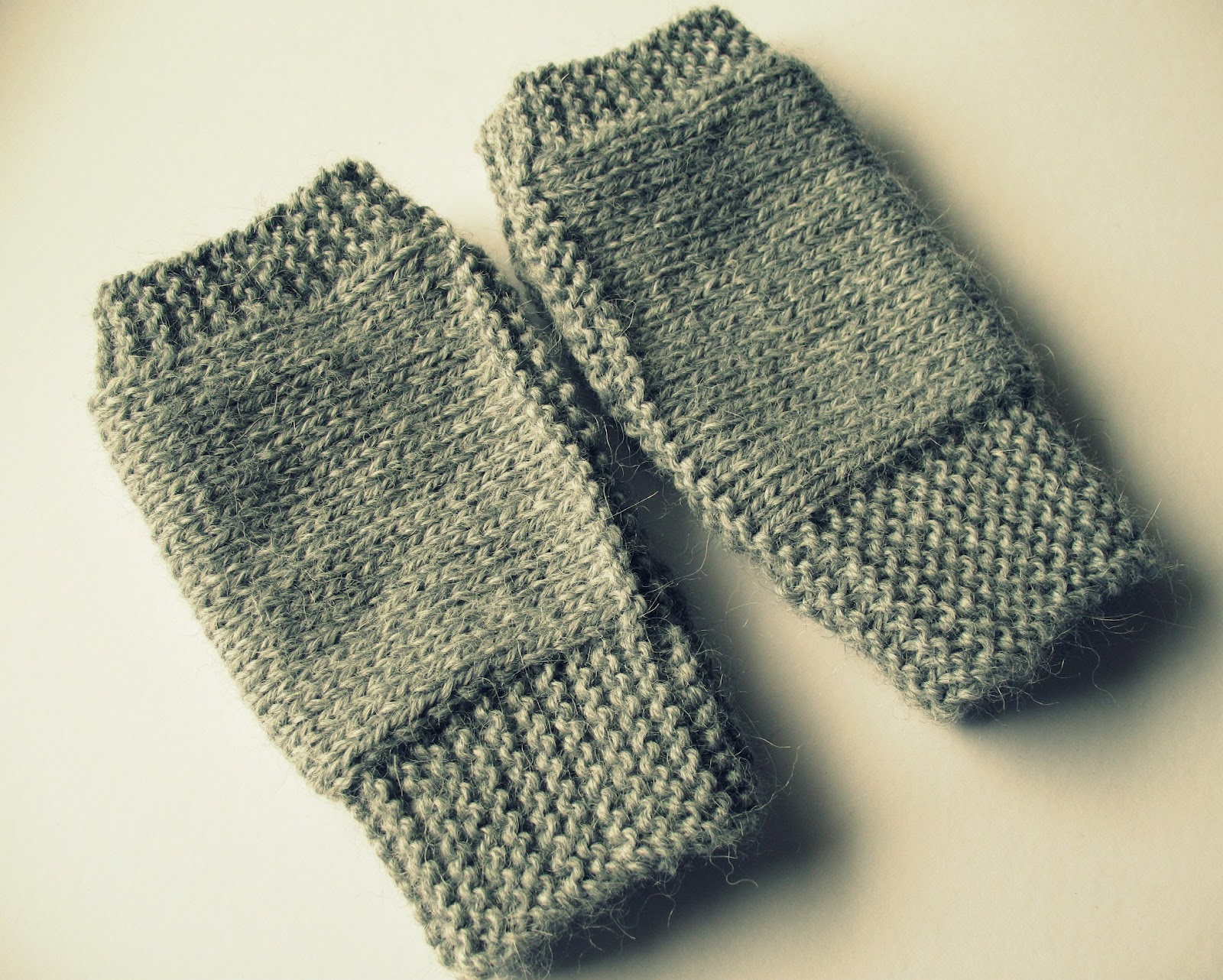 Fingerless Gloves Knitting Pattern Beginner