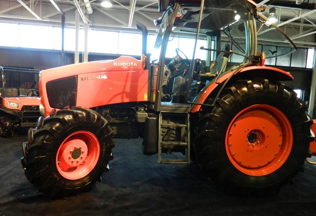 Landscape Ontario 2014 Congress Kubota tractor by garden muses-a Toronto gardening blog