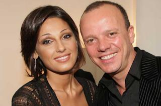 Anna Tatangelo and Gigi D'Alessio
