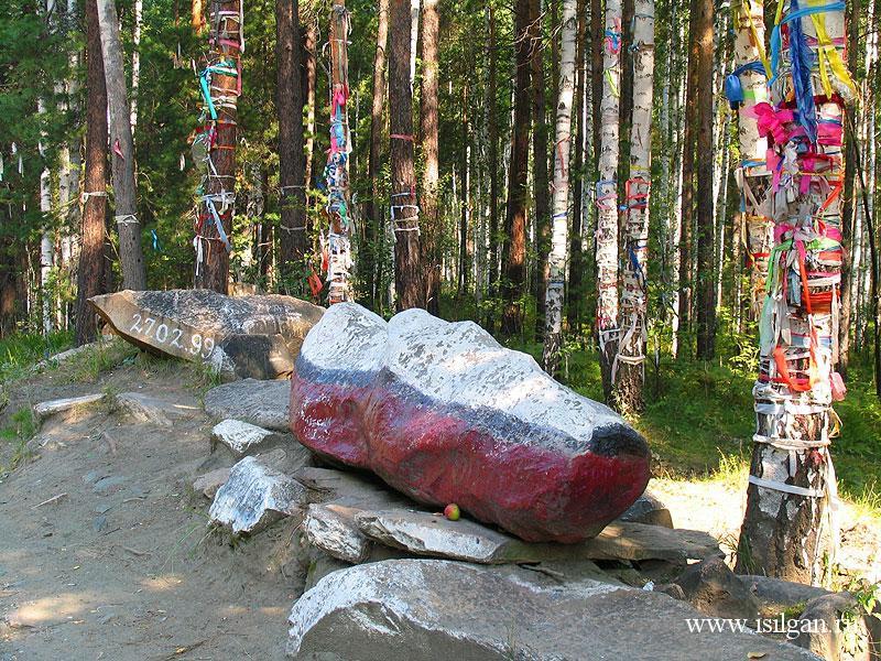 Дунькин сундук и Самсонкин гроб. Челябинская область