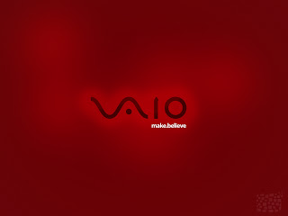 Red Sony Vaio wallpaper