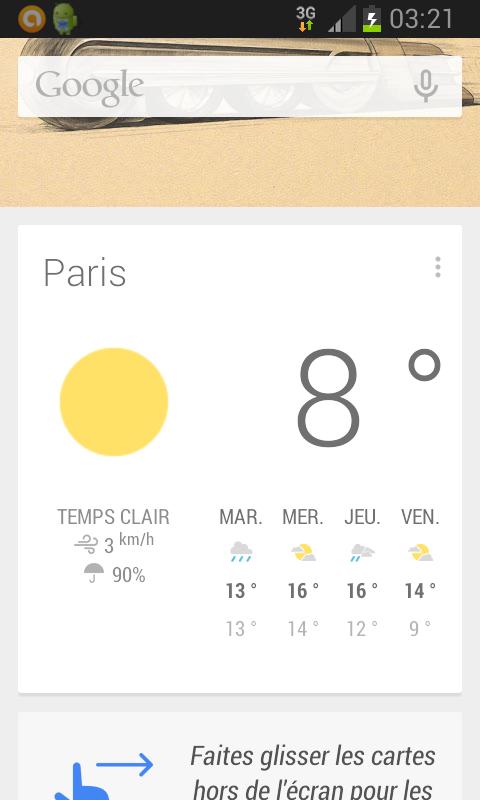 Google Doodle sur Google Now