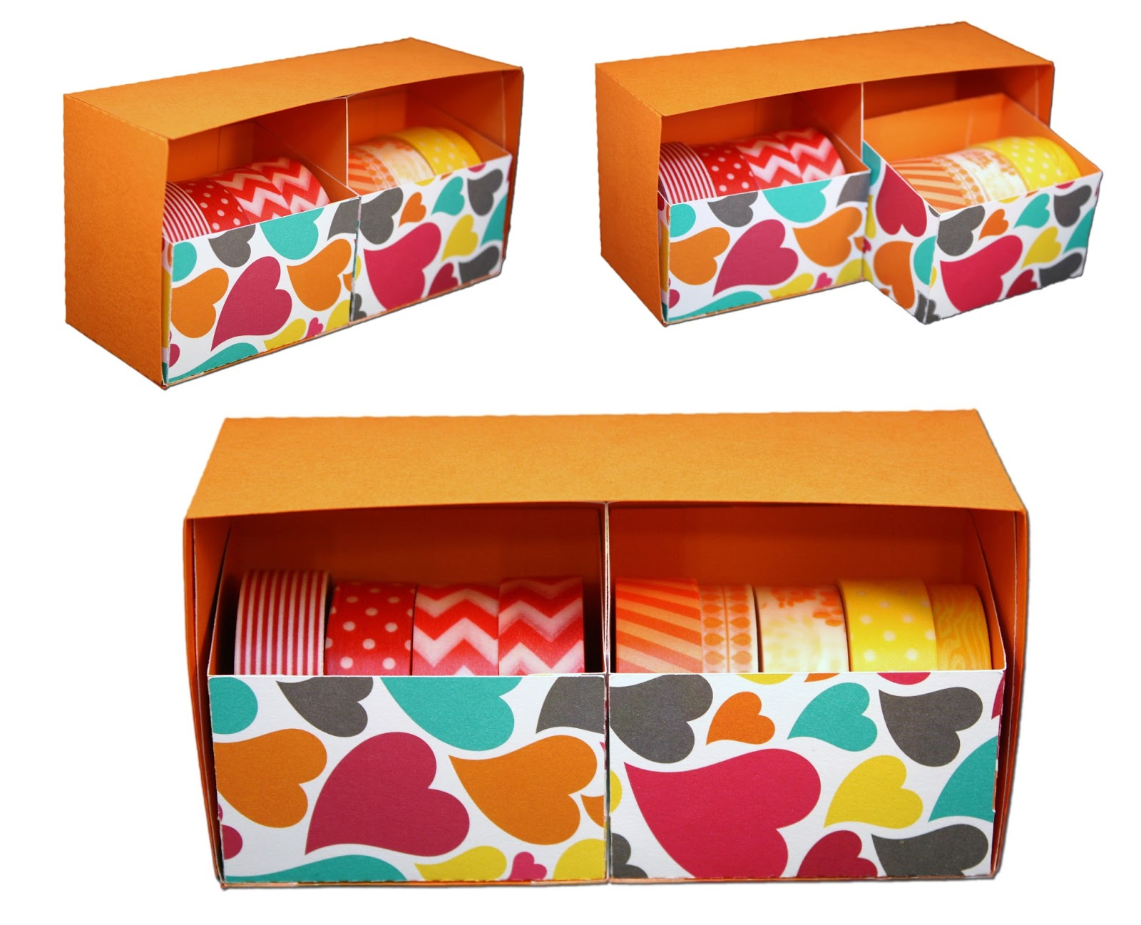 Washi Tape Storage Drawers!