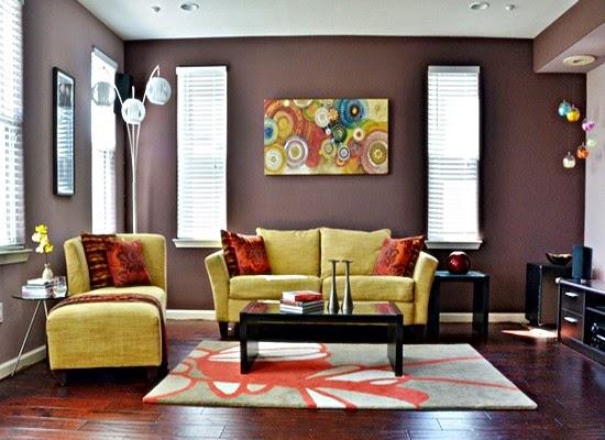 tips memilih warna cat ruang tamu yang tepat desain