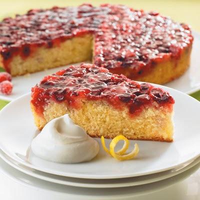Aan Jeanne`s Keukentafel: Upsidedown Cranberry Cake