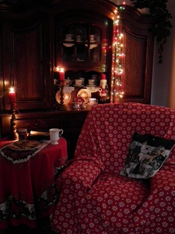 Tak piję świąteczną herbatkę