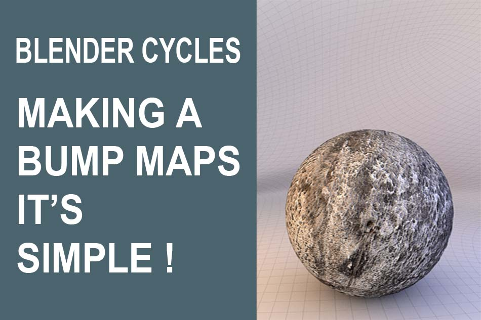 how to make bump maps in blender