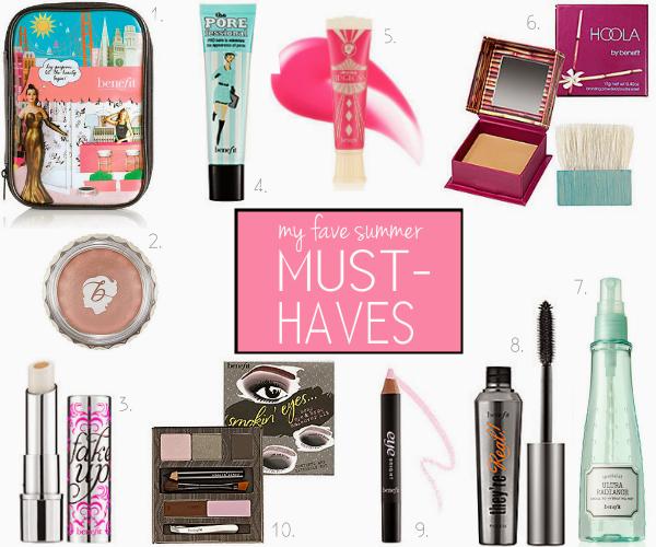 10 makeup must haves from benefit for summer. Black Bedroom Furniture Sets. Home Design Ideas