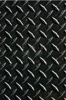 Gold / Black Diamond Plate Thermoplastic Sheets & Chrome Diamond Plate Plastic sheets