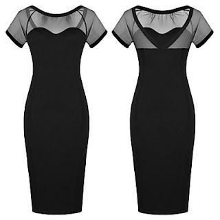 modelo de vestido tubinho preto - dicas e fotos