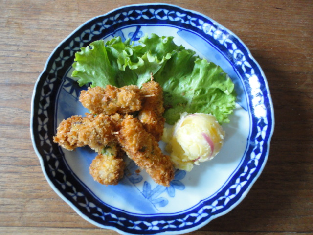 Ma vraie cuisine japonaise croquettes de pommes de terre - Ma vraie cuisine japonaise ...
