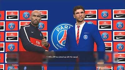 PES 2016 PSG Manager Player Sponsor (MPS) Pack by fifacana