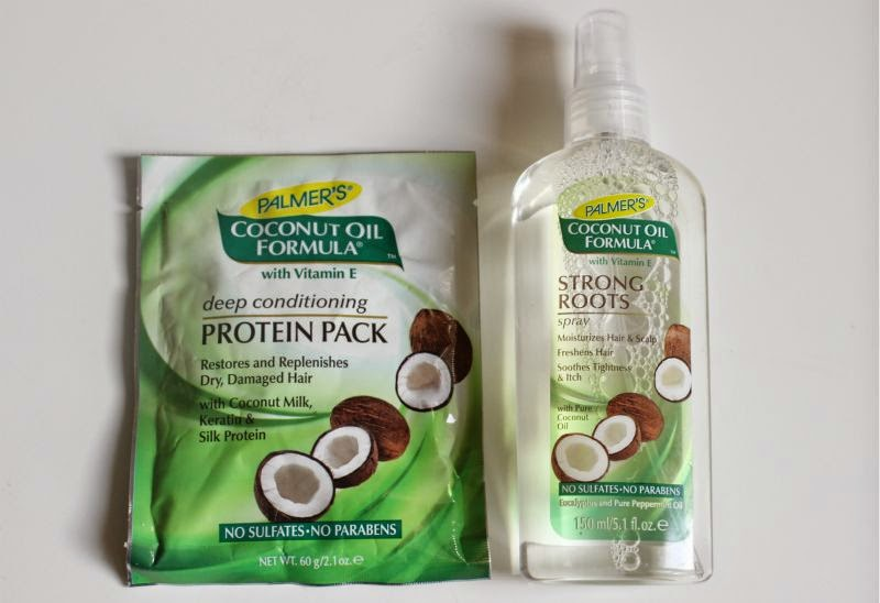 Palmers Coconut Oil Strong Roots Spray Review