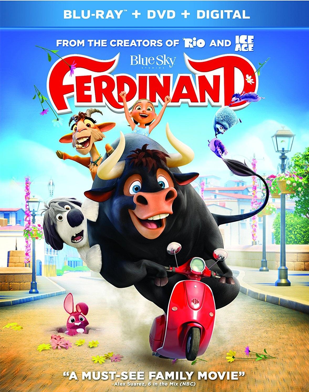 Ole, El Viaje de Ferdinand - 2017 [HD] [1080p] [Latino]
