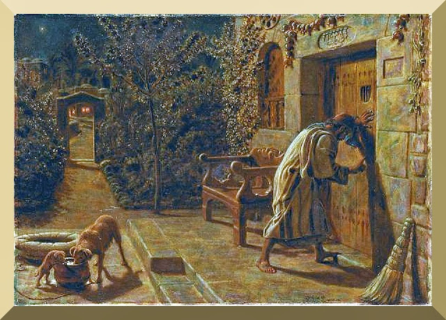 """The Importunate Neighbour"" -- by William Holman Hunt"