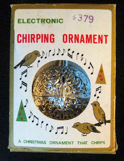 Electronic Chirping Ornament