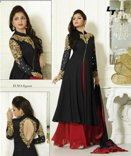 Designer Sarees, Salwar Suits, Indian designer sarees, designer salwar kameez, Indiarush, Fashion,