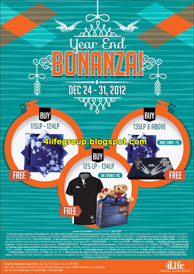 4Life Year End Bonanza 2012
