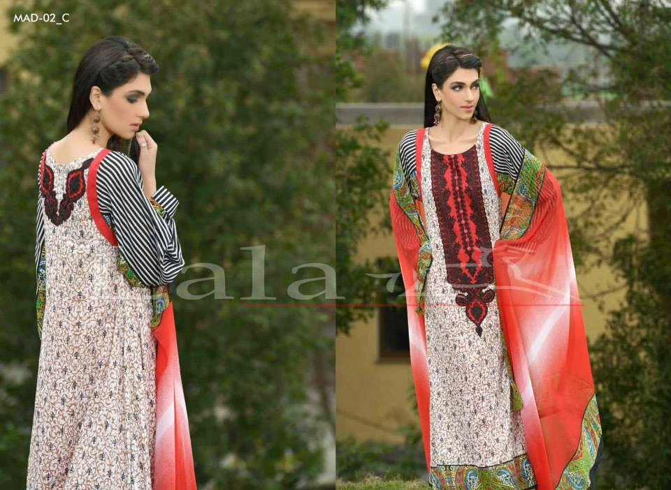 Lala Madham Embroidered Collection 2015