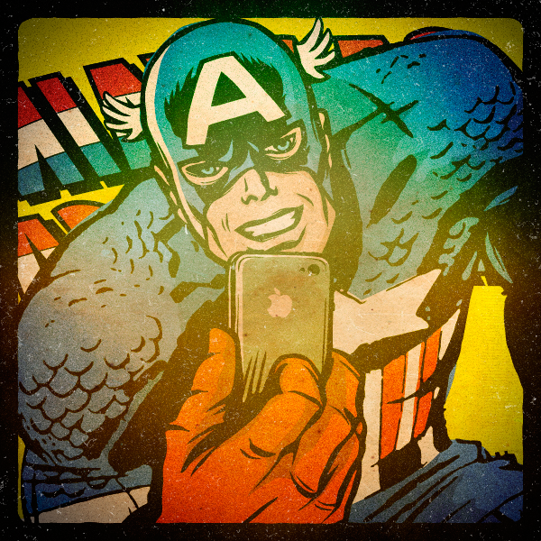 ©Marvel Selfies: Avengers Project by Butcher Billy . Ilustración | Illustration