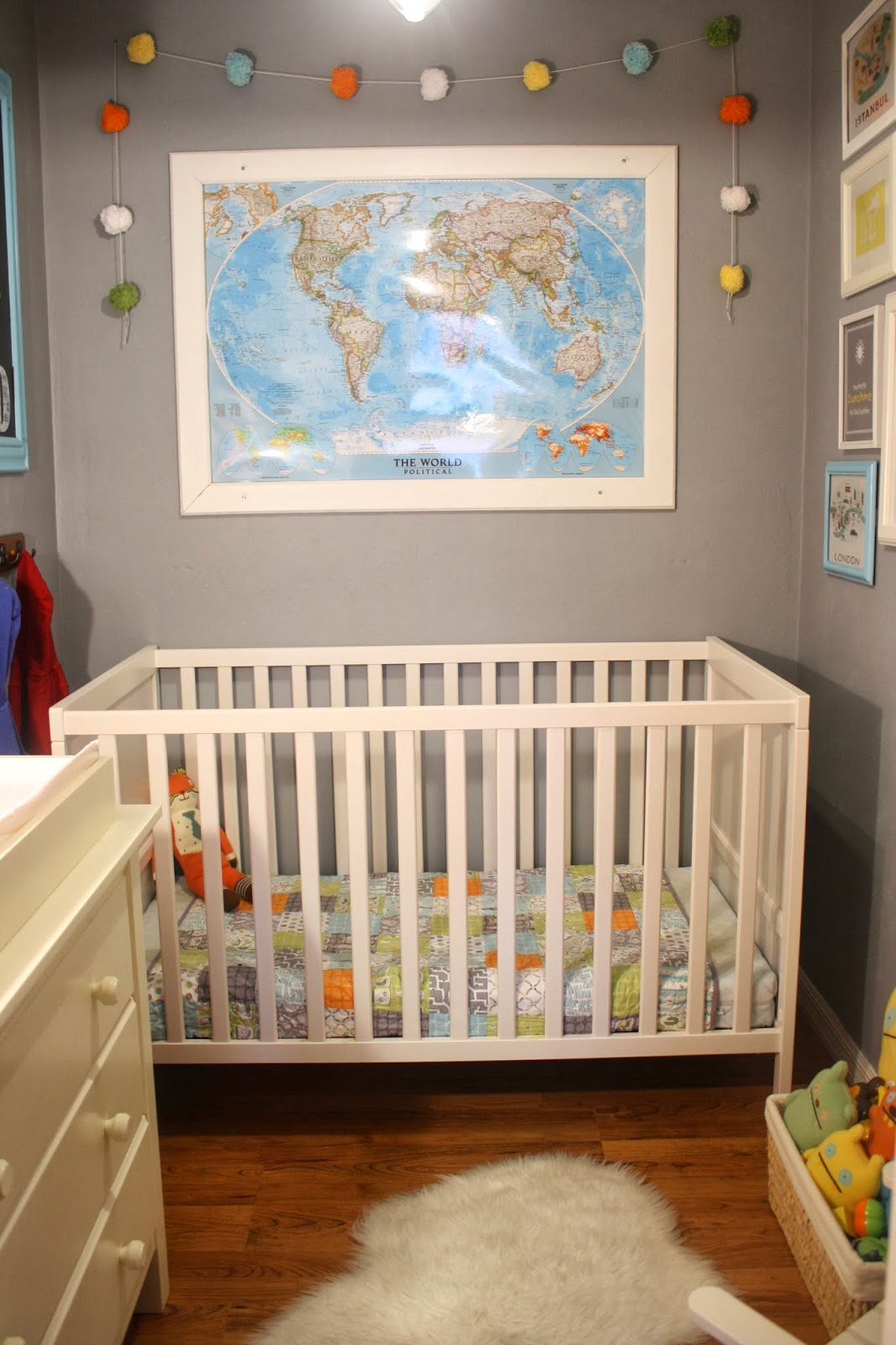 The Story Of Our Master Closet Turned Nursery.