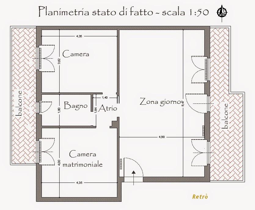 Progetto appartamento 80 mq - Progetto casa 40 mq ...