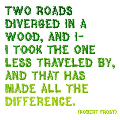 Robert Frost Road Not Taken Poem
