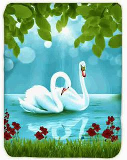 Selimut Kendra Swan Lake