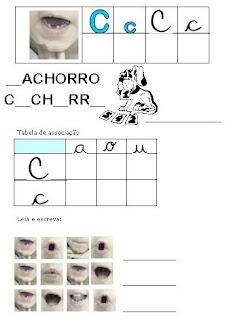 Atividades Alfabetização - Método Fônico C