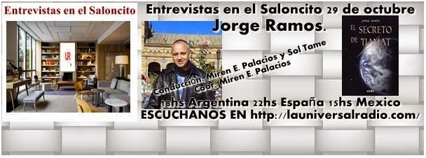 """Entrevistas en el """"Saloncito"""" con Jorge Ramos"""