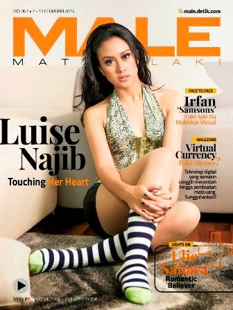 Download Majalah MALE Mata Lelaki 067 - Luise Najib, Fabulous and Talented | Download MALE 67 | Luise Najib, Fabulous and Talented | www.insight-zone.com