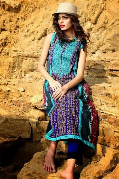 Summer Lawn Dresses by Khaadi