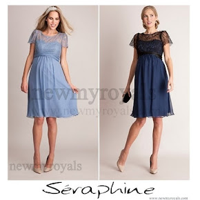 Princess Victoria wore Seraphine Silk and Lace Special Occasion Dress