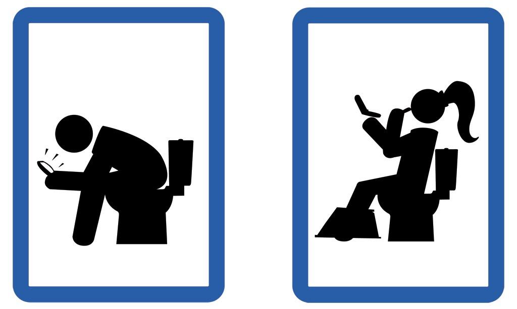 Ilustraciones cartel para ba o - Cartel bano ...
