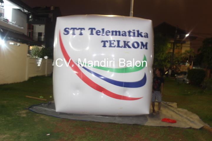 Balon Udara Promosi ST3 TELKOM