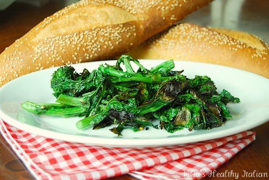 Crispy Broccoli Rabe