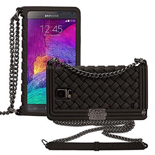 Dressier Braid Purse Wallet Design Case for Samsung Galaxy Note 4