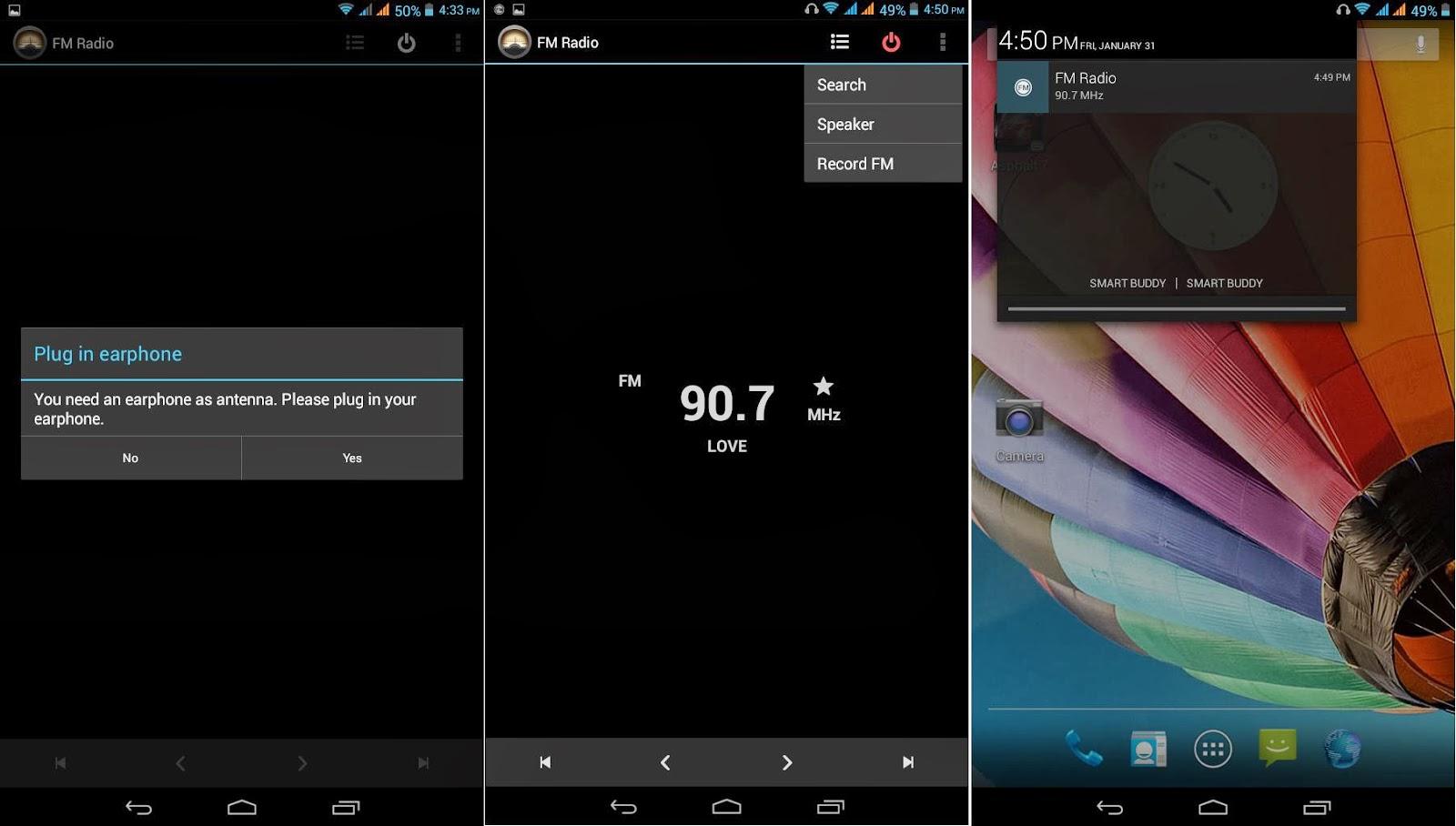 SKK Mobile Cyclops II FM Radio