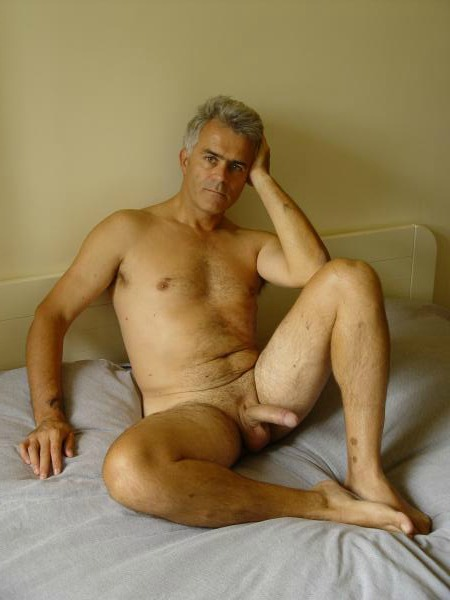 Nude male mature